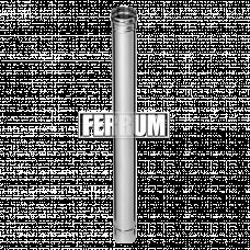 Дымоход Феррум нержавеющий (430/0,5 мм) ф115 L=1,0м