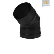 КОЛЕНО BLACK (AISI 430- 08 ММ) 45°,Ø 115