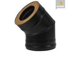 СЭНДВИЧ-КОЛЕНО BLACK (AISI 430- 08 ММ) 45°, Ø 200/300