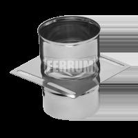 Площадка Феррум монтажная одностенная (430/0.8 мм), ф130
