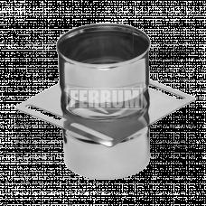Площадка Феррум монтажная одностенная (430/0.8 мм), ф115