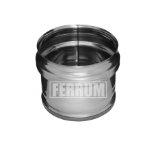 Заглушка Феррум М внешняя нержавеющая (430/0,5 мм), ф115