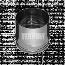Заглушка Феррум П внутренняя нержавеющая (430/0,5 мм), ф115