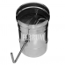 Заслонка Феррум (шибер поворотный) нержавеющая (430/0,8мм), ф150