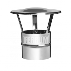 Зонт Феррум нержавеющий (430/0,5 мм), ф200