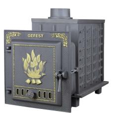 Чугунная печь для бани Гефест (ПБ-04)