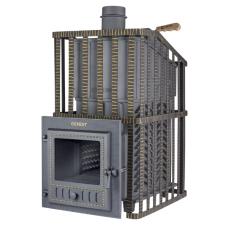Чугунная печь для бани Гефест ЗК Ураган 25 (М)