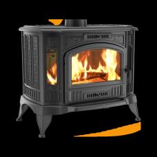 Печь-камин чугунный KOZA/K9/150/PW/W с теплообменником