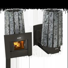 Печь для русской бани Cometa 180 Vega Window Stone